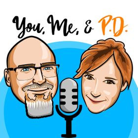 The You, Me, and PD Podcast Logo
