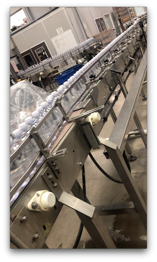 Conveyor relocated