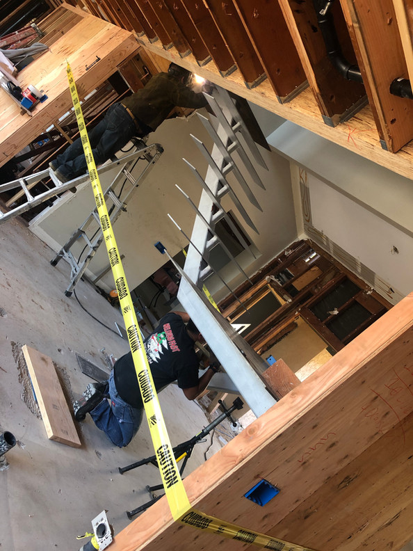 Stairs Fabrication and Installation