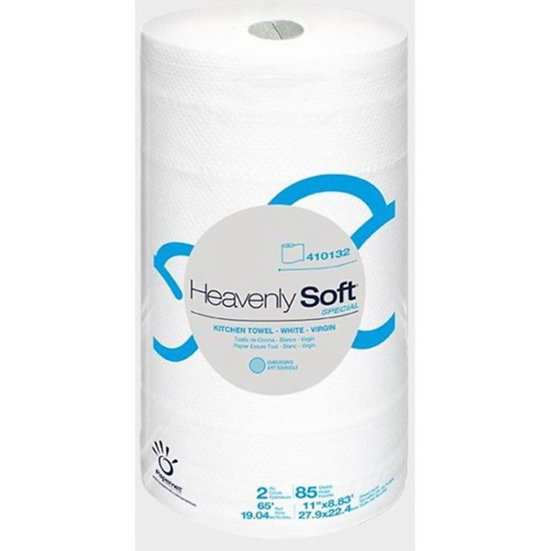 Heavenly Soft Kitchen Towel Roll, 85 Sheets
