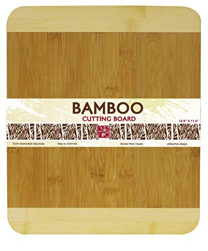"Bamboo Cutting Board, 11.5""x13.5"""
