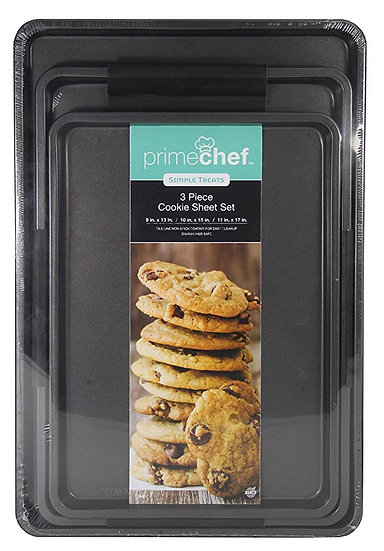 Prime Chef Set of 3 Cookie Sheet