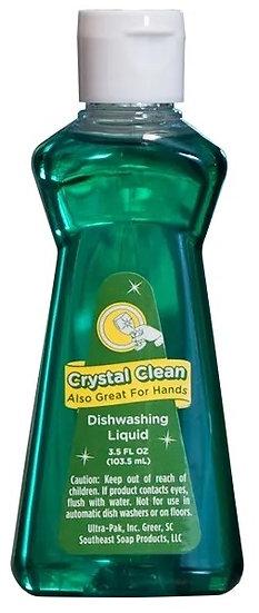 Crystal Clean Dishwashing Liquid, 3.5oz