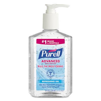 Purell Hand Sanitizer, 8oz