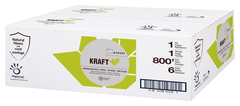 "Heavenly Soft Hardwound Roll Towel, 8""x800"", Kraft"