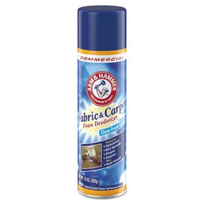 Arm & Hammer Fabric and Carpet Foam Deodorizer Aerosol