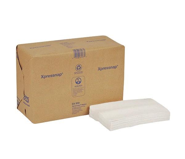 "Xpressnap® Dispenser Napkins 1/4 Fold 500Ct 8.5"" x 13"" White"