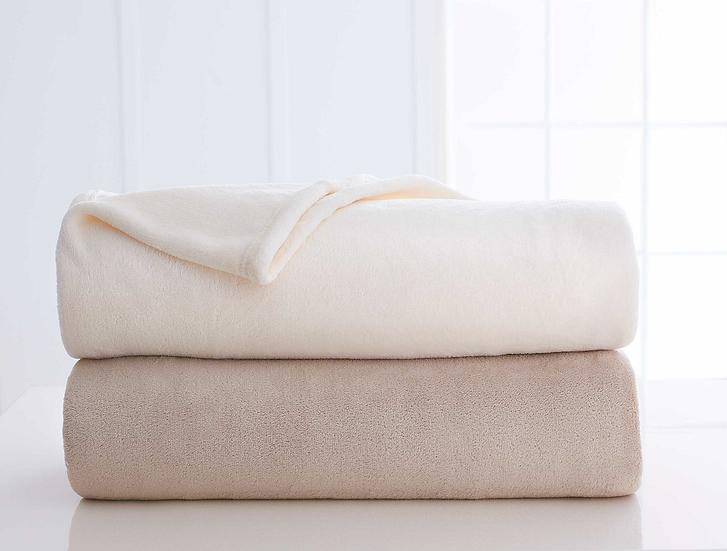 Martex® Plush Microfiber Blanket