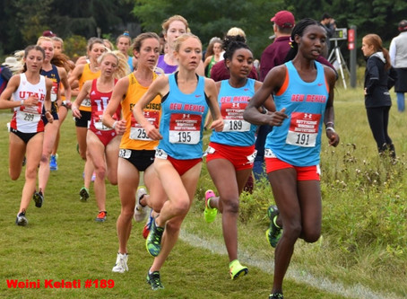 Weini Kelati Finishes 2nd as the University of New Mexico takes 3rd in Team Competition.