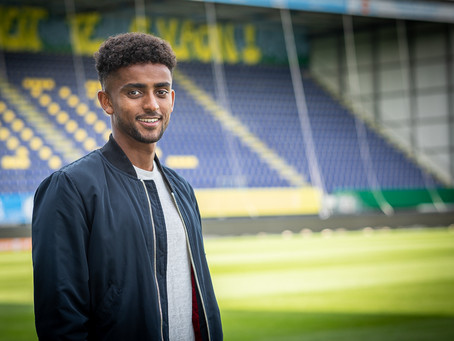 Transfer News: Eritrean-Swede Tesfaldet Tekie gets picked up by Eredivisie lowly ranked Fortuna Sitt