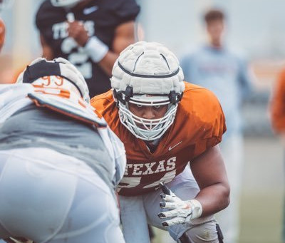 Rafiti Ghirmai shining like gold for the University of Texas Longhorns.
