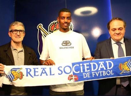 Eritrean-Swede Alexander Isak signs with Spanish Premier League Real Sociedad