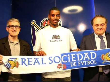 Eritrean-Swede Alexander Isak signs with Spanish Premier League Real Sociedad