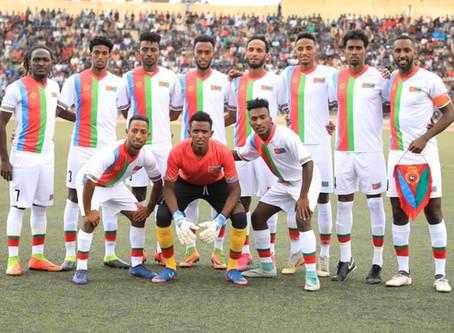 Eritrea national football/soccer team in Namibia.