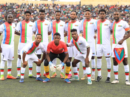 Eritrea national football/soccer team in Namibia.