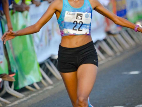 Eritrean athlete Mekdes Woldu making strides in France.