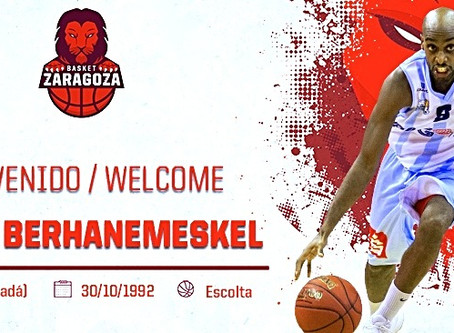 Johnny Berhanemeskel ready for a new experience in the Spanish premier basketball league.