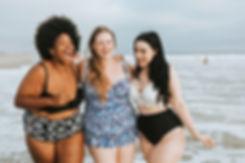 Three Ladies On Beach.jpg