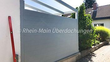 Unsere Metallzäune | Rheinmain Ueberdachungen