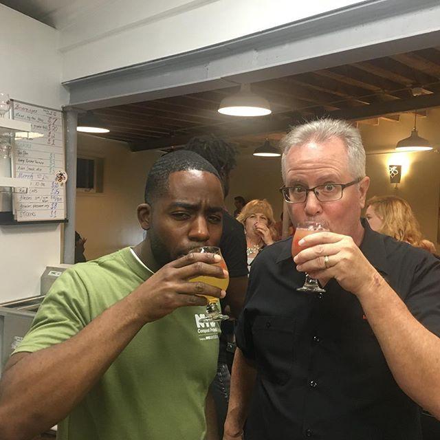 _brewshi & I havin a blast last Saturday