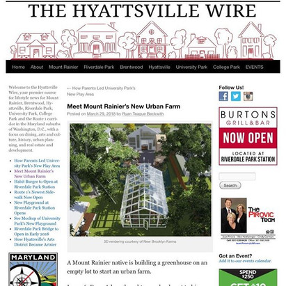 3/28/19 Hyattsville Wire Feature