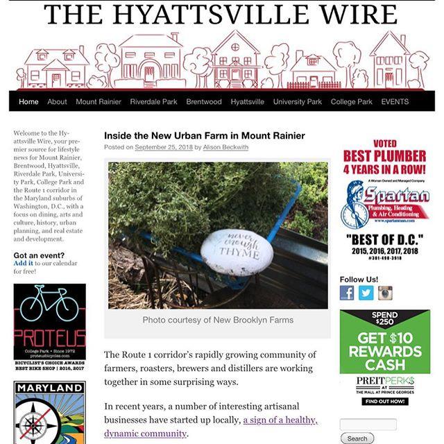 9/25/18 Hyattsville Wire Feature