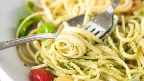Pasta Pesto in 15 Minutes