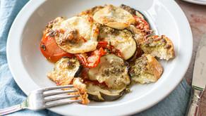 Summer Vegetables with Radish Greens Pesto