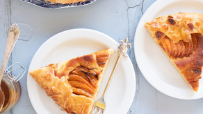 Summery Apricot Galette with Ricotta Frangipane