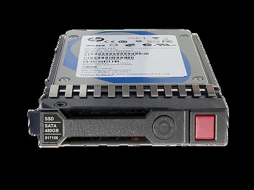 HPE 480GB 2.5Inch SFF SATA interface 6Gb/se  hot-plug SSD