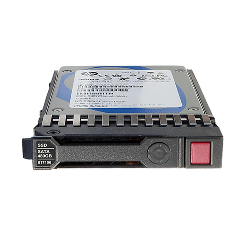 HP 480GB 6G SATA Mixed Use-3 SFF 2.5-in SC 3yr Wty SSD