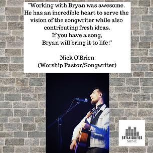 Nick O;Brien