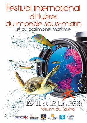 Palme de bronze au Festival International d'Hyères du Monde sous-marin...