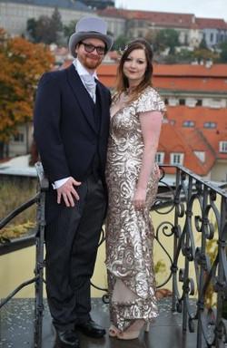 Bride and Groom, Prague Castle
