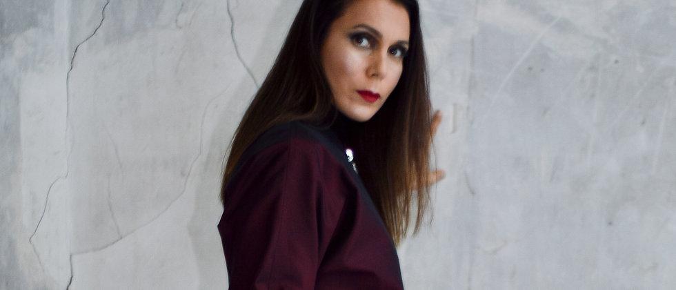 Robe Chemise PAOLA ROUGE