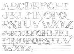 Classic Tattoo Script