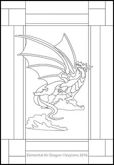 Earth Dragon with Opaque Wings