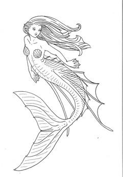 Elegant Mermaid