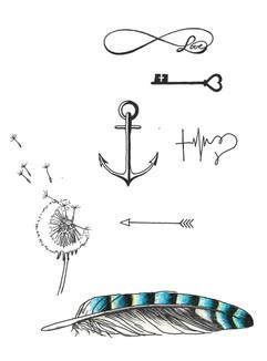 Basic tattoos