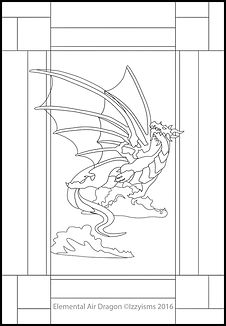 Earth Dragon with Transparent Wings