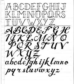Classic Tattoo Script 2