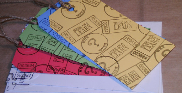 Bookmark Set of 4 / Teacher Gift / Student Gift