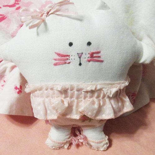 Puffie Pretty in Pink Cat