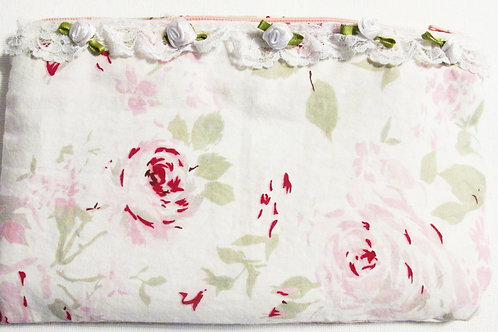 Shabby Chic Fabric Bag,Fabric Pouch