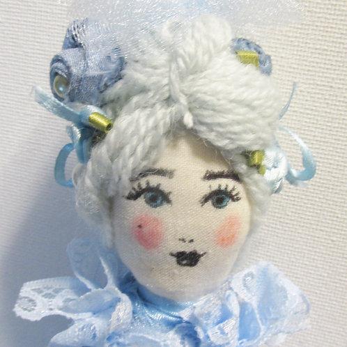 Shabby Chic Marie Antoinette Doll