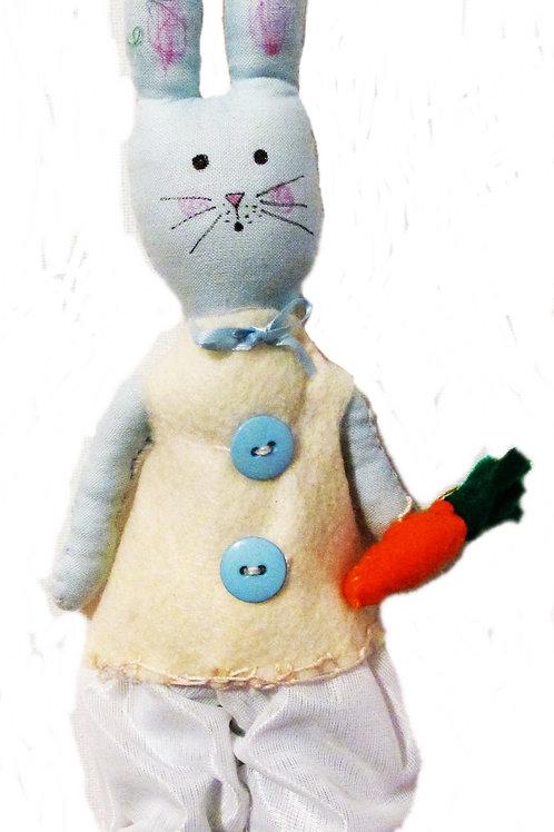 Shabby Chic Easter Bunny-Roger Rabbit