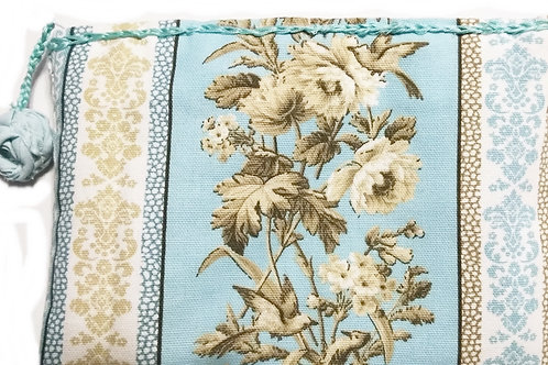 Floral Fabric Pouch