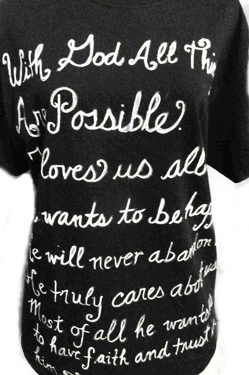 Religious T-Shirt, Christian T-Shirt, Black T-Shirt