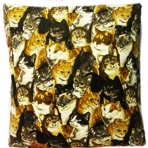 Pillow Cover~Kitty Galore