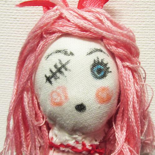Voodoo Doll-Eyeless Evelyn, Creepy Doll,Halloween Doll